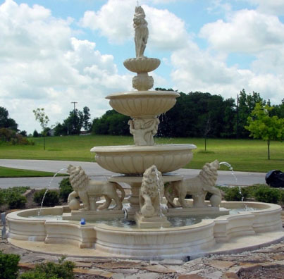TerraGlas Terracotta Fountains